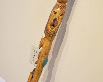 Hand Carved Walking Cane