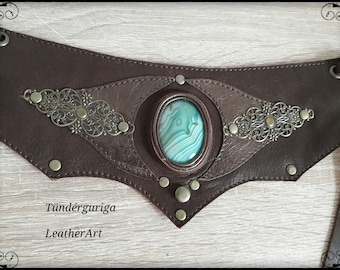 """Fairy"" leather beltbag"