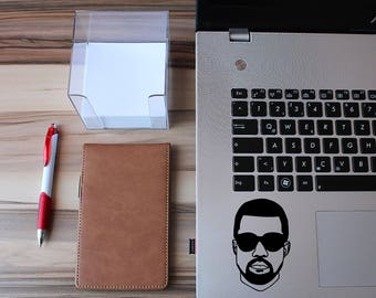 Kanye West Sticker - Kanye West Decal - Macbook Stickers - Car Decals