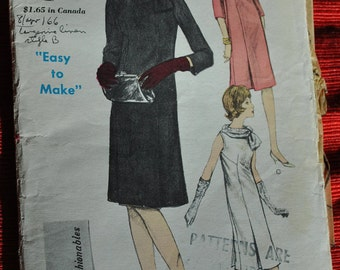 Vintage Vogue Young Fashionables 6069; ca. 1963 sewing pattern used  Size 14