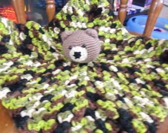 camoflage bear lovie