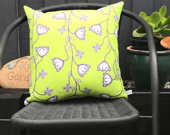 Cushion Cover in Lime Green, Home Decor, Out Door Living
