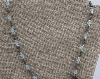 Steampunk Clockwork Butterfly Necklace