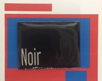 Noir Film Pin