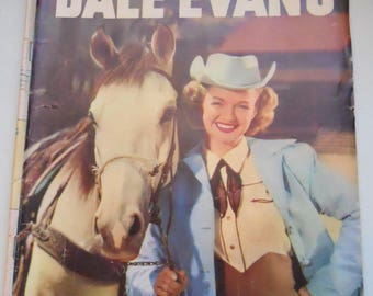 Four Color Comics (Dale Evans) No. 14, Silver Age Comic Book, G 1957 Dell Comics