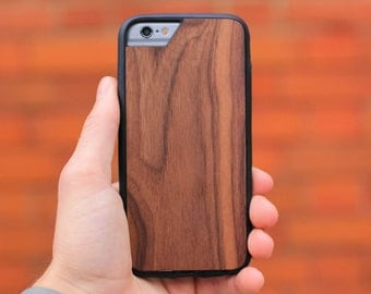 Walnut iPhone Case with Airo Shock Protection by Mous Limitless - for iPhone 7, 6S, 6 and iPhone 7 Plus, 6S Plus, 6 Plus