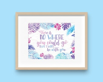 Disney Moana Quote Decoration