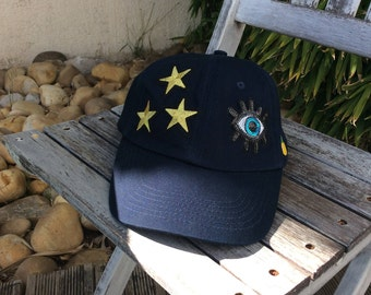 Lucky stars patches Baseball Caps