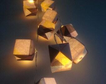 Guirlande lumineuse origami 20 LED