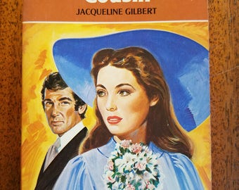 Vintage Harlequin Romance 2214 Country Cousin by Jacqueline Gilbert