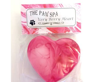 Very Berry Heart Soap