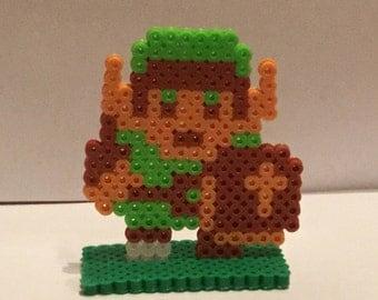 Legend Of Zelda Link Perler NES Sprite