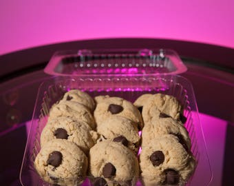 Gluten Free Low Sugar Low Carb Chocolate Chip Cookies