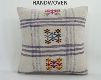 throw pillow antique kilim pillow boho rug pillow throw pillow cover decorative pillow home decor pillows 000752