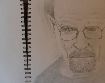 Walter White from Breaking Bad Portrait