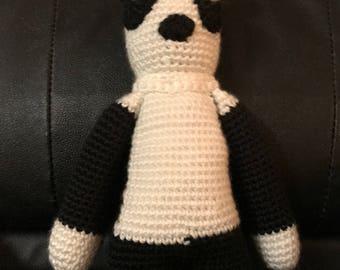 Crochet, Panda, Baby, Handmade