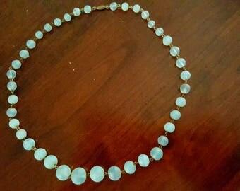 Vintage Retro Moonstone Necklace