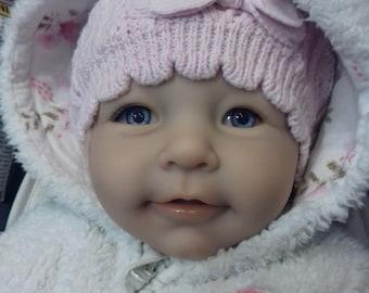 Reborn doll Liza by Linde Sherer - SOLD!