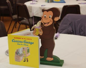 Handmade Curious George Bank