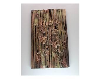 Wood Art 3 - Gold/Brown
