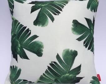 Palm Leaf Cushion Cover