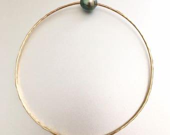 Single Tahitian Pearl Bracelet