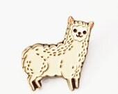Llama Pin Llama Enamel Pin Alpaca Pin Alpaca Enamel Pin Llama gifts Alpaca Jewelry Kawaii Llama Pin - Animal Enamel Pin