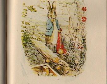 The Tale of Benjamin Bunny - Beatrix Potter - Vintage Kids Book