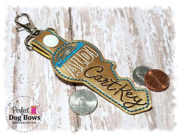 Aldi Quarter Keeper - Aldi Keychain - Aldi Cart Key - Gold Key