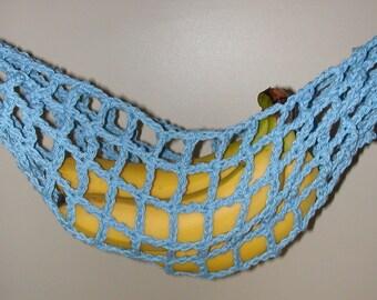 banana hammock fruit hanger holder   medium blue fruit hammock   etsy  rh   etsy