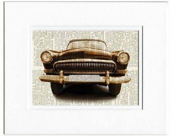 retro car photo