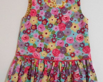 Size 12 Mos Floral Baby Dress