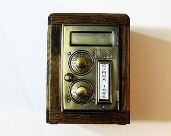 Post Office Box 1886 Door Bank Safe