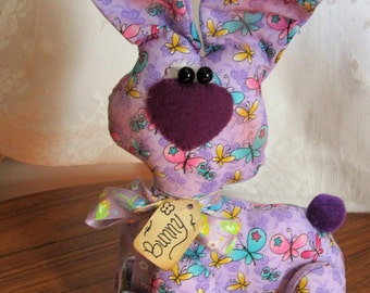 Handmade Easter Bunny Rabbit for Decorating this Season by craftylittlkitten Great Gift Idea for the Bunny Rabbit Collector