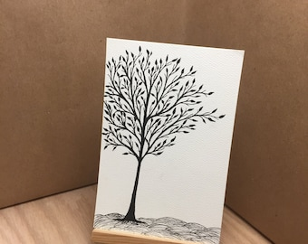 Tree - Pen & Ink