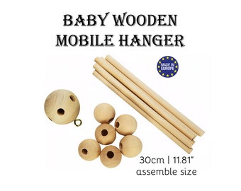 Baby Mobile. nursery mobile baby. wooden baby mobile. baby mobile kit. baby crib mobile. diy baby mobile. wooden mobile. diy mobile #120027