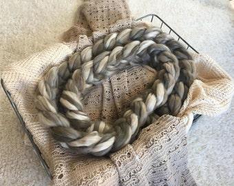 Chunky Knit Posing Braid Newborn Photography Prop Blanket