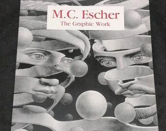 M.C. Escher - The Graphic Work vintage Taschen art book
