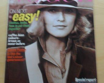 Vogue August 1977
