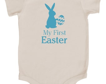 Easter Graphic Baby Bodysuit- My First Easter