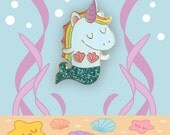Mernicorn Unicorn Mermaid Enamel Pin