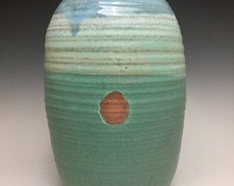 Back Country Collection; Large Bud Vase; Fine Ceramic Arts; Florida Keys