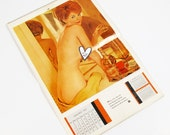 Vintage Calendar, 1960s Playboy Calendar Of Playmates, Mature Content, Nude Calendar, 1963 Playboy Playmates Collectible