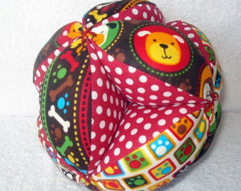 Baby Bow-Wow Easy-Catch Baby/Toddler Clutch Ball