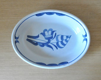 bo fajans sweden oval serving bowl