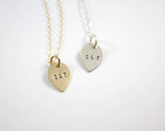 City Necklace - Area Code Necklace - CLT Necklace - 704 Necklace - City Code - Area Code - Charlotte - Geo Necklace
