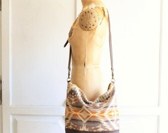 southwestern blanket bag crossbody