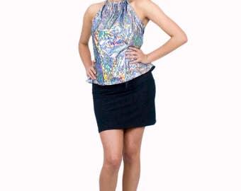50% OFF Black Pencil Skirt Stretch Spandex Mini Spandex Clothing Basics Club Wear
