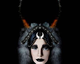 Black Moon Headdress