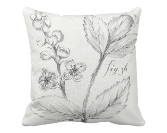 Botanical Pillow Cover Fig. 3B